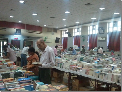 Strand Book Stall Exhibition at Sundarabai Hall