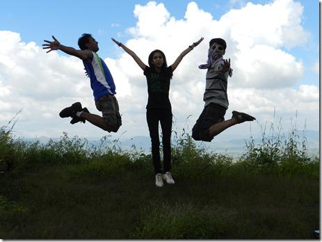We love trekking. :)