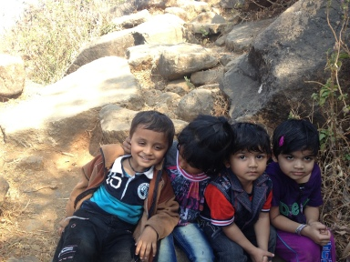 The Kids. We had 4 kids with us on this hike, ages between 2 yrs 9 months to 3 years 7 months. Hats off to them and their parents.